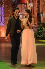 Tiger Shroff, Jacqueline Fernandez promote The Flying Jatt on the sets of The Kapil Sharma Show on 8th Aug 2016 (33)_57a94dcb92639.JPG