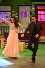 Tiger Shroff, Jacqueline Fernandez promote The Flying Jatt on the sets of The Kapil Sharma Show on 8th Aug 2016