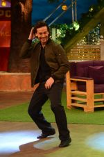 Tiger Shroff, Jacqueline Fernandez promote The Flying Jatt on the sets of The Kapil Sharma Show on 8th Aug 2016 (40)_57a94dcd98280.JPG