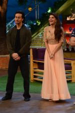 Tiger Shroff, Jacqueline Fernandez promote The Flying Jatt on the sets of The Kapil Sharma Show on 8th Aug 2016 (46)_57a94e456f0c8.JPG
