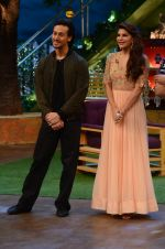 Tiger Shroff, Jacqueline Fernandez promote The Flying Jatt on the sets of The Kapil Sharma Show on 8th Aug 2016 (47)_57a94dcf96bad.JPG