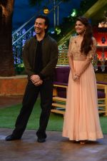 Tiger Shroff, Jacqueline Fernandez promote The Flying Jatt on the sets of The Kapil Sharma Show on 8th Aug 2016 (48)_57a94e465c88e.JPG