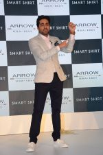 Ayushmann Khurrana at Arrow Smart Shirt launch in Mumbai on 9th Aug 2016
