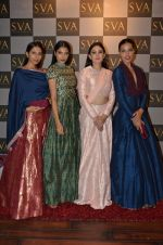 Candice Pinto, Aanchal Kumar, Deepti Gujral at SVA Autumn Winter collection launch on 9th Aug 2016 (31)_57aaaf119b0a4.JPG