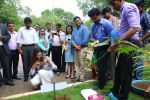 Deepika Padukone, brand ambassador of India�s no.1 sugar free chewing gum Orbit  takes a photo of the mango tree sapling she planted at the Wrigley India factory, the �Home of Orbit� in Bangalore on August 5, 20_57ab3b5d78f3a.jpg