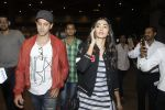 Hrithik Roshan, Pooja Hegde snapped at airport on 9th Aug 2016 (4)_57ab3ae14de88.JPG