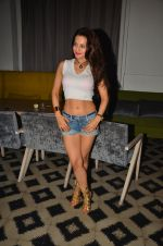 Ameesha Patel snapped at Corner House for friends party on 10th Aug 2016 (12)_57ac444c96387.JPG