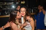 Ameesha Patel snapped at Corner House for friends party on 10th Aug 2016 (3)_57ac444343688.JPG