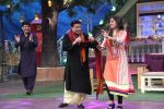Anup Jalota, Pankaj Udhas, Talat Aziz on the sets of The Kapil Sharma Show on 10th Aug 2016