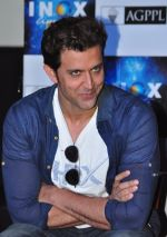 Hrithik Roshan promote Mohenjo Daro in INOX, Mumbai on 11th Aug 2016