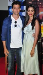 Hrithik Roshan, Pooja Hegde promote Mohenjo Daro in INOX, Mumbai on 11th Aug 2016