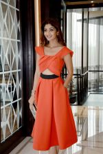 Shilpa Shetty during the press confrence to announce the stars & Superstars of Social Media outlook Social media Awards at Hotel Hyatt Regency,New Delhi on 10th Aug 2016(18)_57ac48c224799.JPG