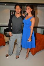 Tiger Shroff, Jacqueline Fernandez shoot at the promotion of The Flying Jatt on 10th Aug 2016