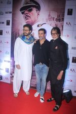 Amitabh Bachchan, Akshay Kumar, Abhishek Bachchan at Rustom screening in Sunny Super Sound on 11th Aug 2016 (151)_57ad990ab7367.JPG