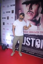 John Abraham at Rustom screening in Sunny Super Sound on 11th Aug 2016