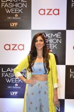 Nishka Lulla at Aza in association with Lakme Fashion Week with emerging designers on 11th Aug 2016