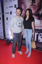 Sanjay Kapoor, Maheep Kapoor at Rustom screening in Sunny Super Sound on 11th Aug 2016