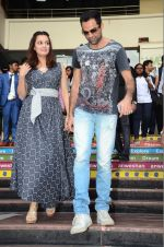 Dia Mirza and Abhay Deol sanpped at Welingkar college on 12th Aug 2016 (82)_57af700023e9e.JPG