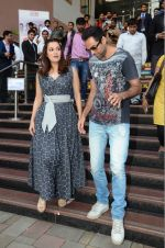 Dia Mirza and Abhay Deol sanpped at Welingkar college on 12th Aug 2016 (87)_57af6fae18708.JPG