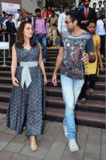 Dia Mirza and Abhay Deol sanpped at Welingkar college on 12th Aug 2016 (89)_57af6fb02f11a.JPG