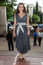 Dia Mirza sanpped at Welingkar college on 12th Aug 2016