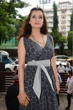 Dia Mirza sanpped at Welingkar college on 12th Aug 2016 (21)_57af702df024a.JPG