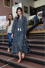 Diana Penty sanpped at Welingkar college on 12th Aug 2016