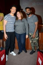 Tiger Shroff and Remo Dsouza promote A Flying Jatt at RCity on 12th Aug 2016