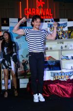 Tiger Shroff promote A Flying Jatt at RCity on 12th Aug 2016