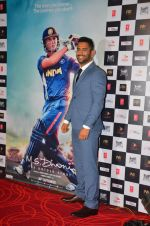 Mahendra Singh Dhoni at M.S.DHONI Movie promo in Juhu on 11th Aug 2016 (7)_57b05f117c713.JPG