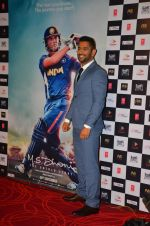Mahendra Singh Dhoni at M.S.DHONI Movie promo in Juhu on 11th Aug 2016 (8)_57b05f139ba88.JPG