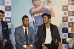 Sushant Singh Rajput, Mahendra Singh Dhoni at M.S.DHONI Movie promo in Juhu on 11th Aug 2016 (3)_57b05f15833a3.JPG
