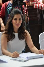 Sophie Choudry at NM college Umang fest in Mumbai on 14th Aug 2016