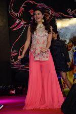 Jacqueline Fernandez promote The Flying Jatt at Umang festival on 15th Aug 2016