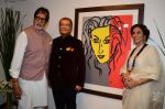 Amitabh Bachchan, Shobha De at Dilip De_s art event on 16th Aug 2016 (68)_57b3e9573a12a.JPG