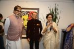 Amitabh Bachchan, Shobha De at Dilip De_s art event on 16th Aug 2016 (81)_57b3e90e5ef4c.JPG