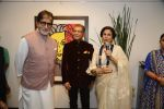 Amitabh Bachchan, Shobha De at Dilip De_s art event on 16th Aug 2016 (82)_57b3e95d6c5e2.JPG
