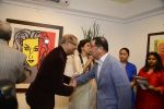 Amitabh Bachchan, Shobha De at Dilip De_s art event on 16th Aug 2016 (84)_57b3e95e95d01.JPG