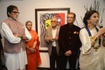 Amitabh Bachchan, Shobha De at Dilip De_s art event on 16th Aug 2016 (85)_57b3e91076820.JPG