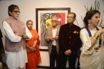 Amitabh Bachchan, Shobha De at Dilip De_s art event on 16th Aug 2016 (86)_57b3e8ad0eab4.JPG