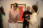 Amitabh Bachchan, Shobha De at Dilip De_s art event on 16th Aug 2016 (94)_57b3e913a04a9.JPG