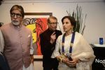 Amitabh Bachchan, Shobha De at Dilip De_s art event on 16th Aug 2016 (95)_57b3e914c796b.JPG