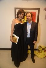 reena and ashok wadhwa at Dilip De_s art event on 16th Aug 2016_57b3e9ce21627.JPG