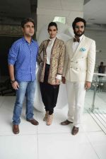 Abhay Deol, Diana Penty, Ali Fazal at Happy Bhag Jayegi Press Conference in New Delhi on 17th Aug 2016 (14)_57b5713f5ee42.jpg