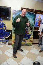 Nathan Jones at the The Flying Jatt Press Conference in Delhi on 18th Aug 2016 (71)_57ba97538dae1.jpg