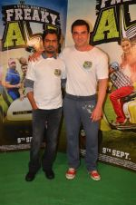 Nawazuddin Siddiqui, Sohail Khan snapped as he promote Freaky Ali on 20th Aug 2016 (105)_57baae201065c.JPG
