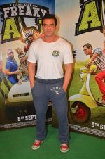 Sohail Khan snapped as he promote Freaky Ali on 20th Aug 2016 (113)_57baae271fd72.JPG
