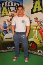 Sohail Khan snapped as he promote Freaky Ali on 20th Aug 2016 (114)_57baae295346b.JPG