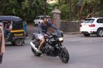 Sushant Singh Rajput snapped on his BMW bike on 21st Aug 2016 (12)_57bacaa61a848.JPG