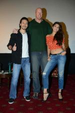 Tiger Shroff, Jacqueline Fernandez, Nathan Jones at the The Flying Jatt Press Conference in Delhi on 18th Aug 2016 (86)_57ba975d5a714.jpg